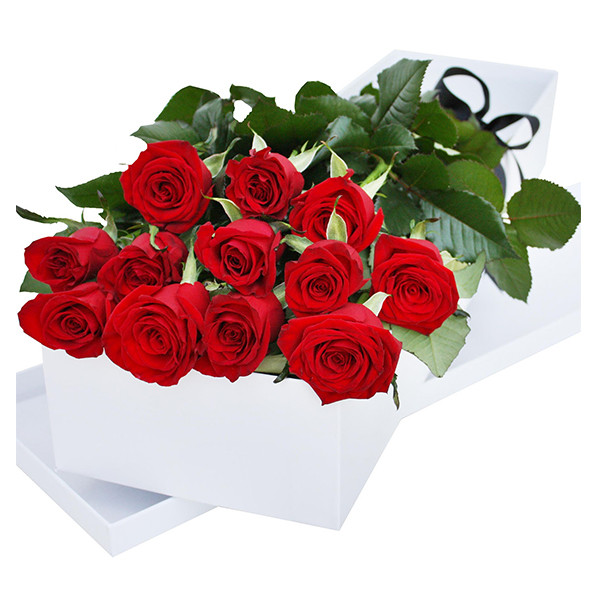 One Dozen Gift Boxed Roses buy at Florist