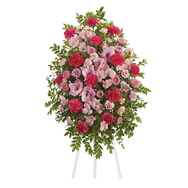 Pink Tribute Spray buy at Florist
