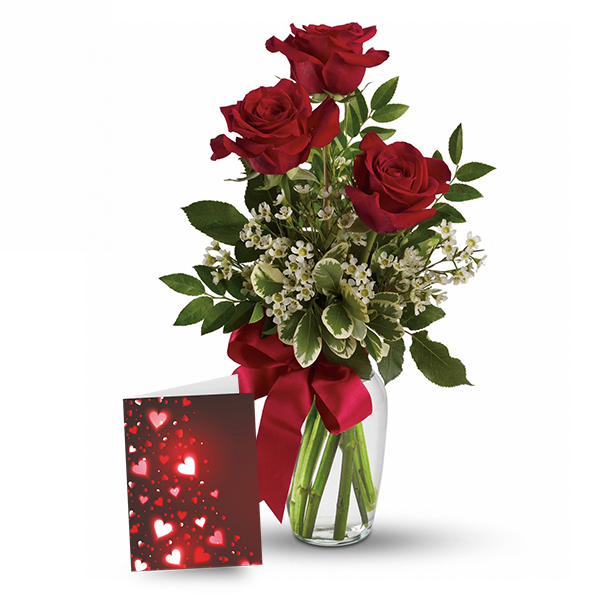 Rose & Card Special buy at Florist