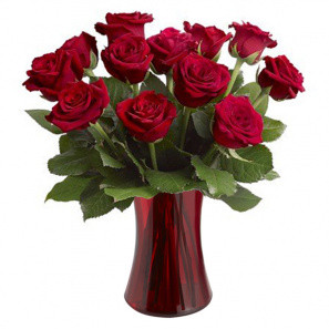 Blooming Heart Roses buy at Florist