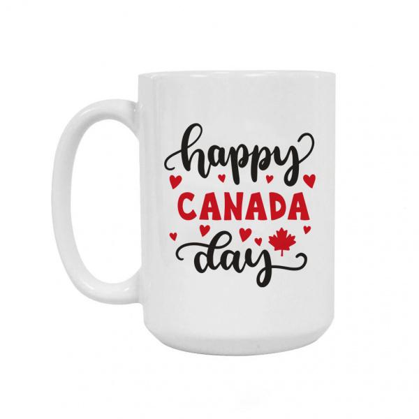 Canada Day Ceramic Coffee Mug 15oz