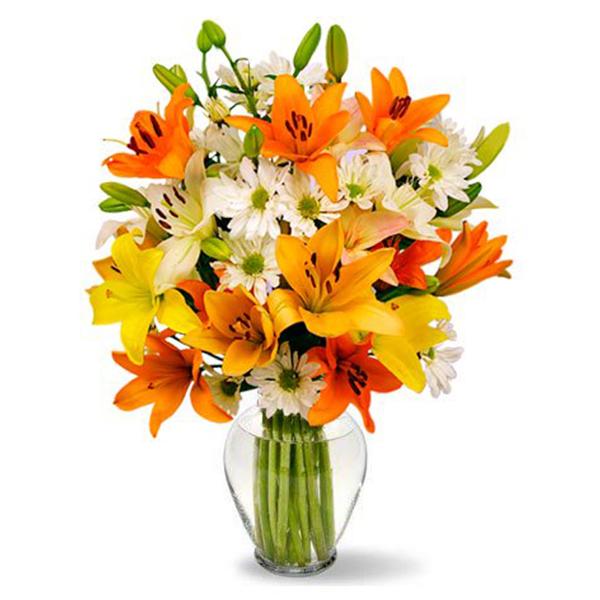 Celestial Lilies Bouquet