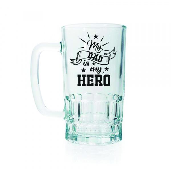Dad Hero Beer Mug