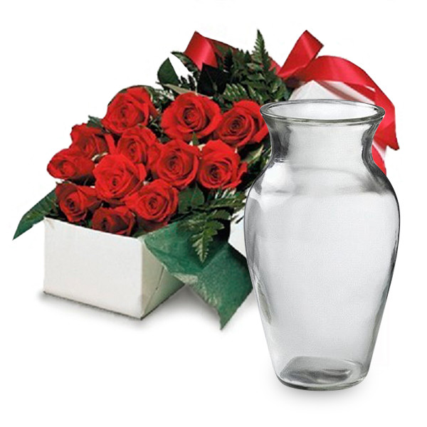 Deluxe Gift Package & Vase buy at Florist