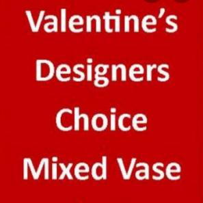 Designer Choice Vase buy at Florist
