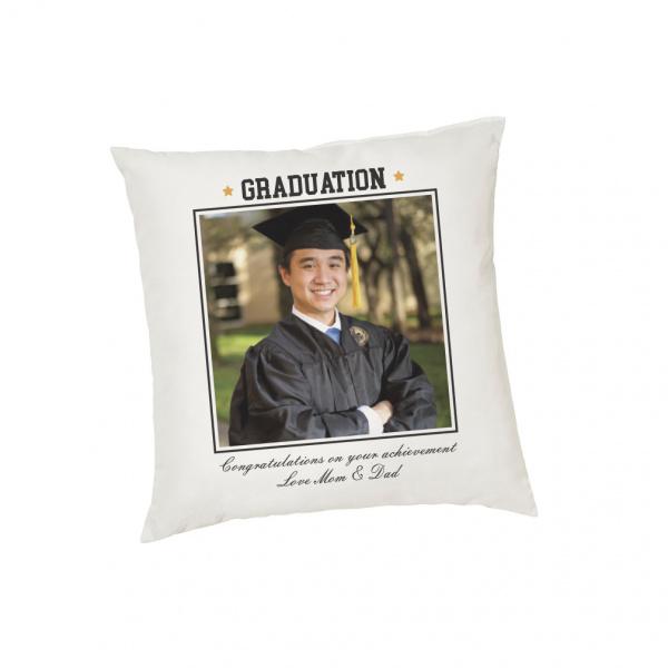 Graduation Custom Photo Cushion Cover