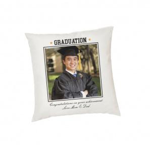 Graduation Custom Photo Cushion Cover buy at Florist