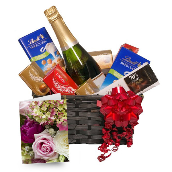 Lindt & Bubbly buy at Florist