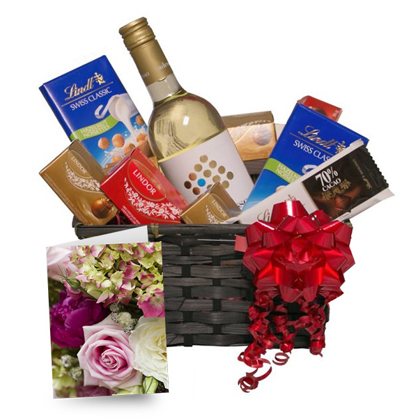 Lindt & White buy at Florist