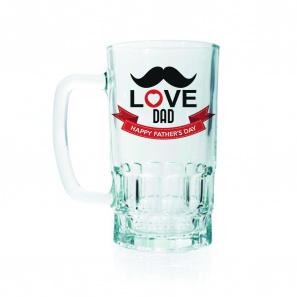 Love Dad 2 Beer Mug