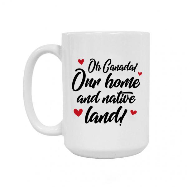 Oh Canada Ceramic Coffee Mug 15oz