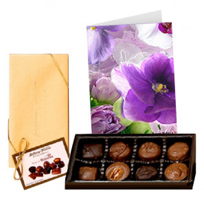 Premium Chocolates with Greeting Card buy at Florist