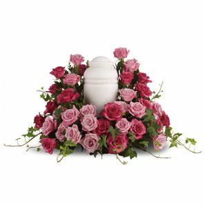 Rose Symphony Urn Arrangement buy at Florist