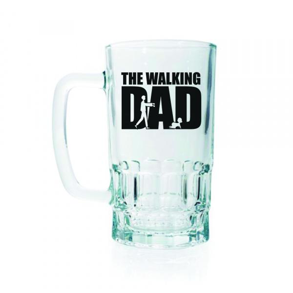 The Walking Dad Beer Mug
