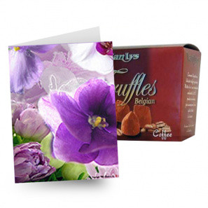 Truffles & Card buy at Florist