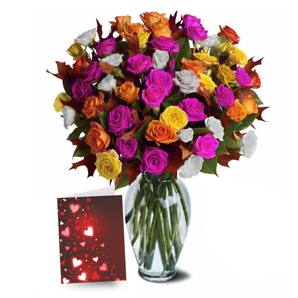 100 Blooms of Assorted Spray Roses buy at Florist