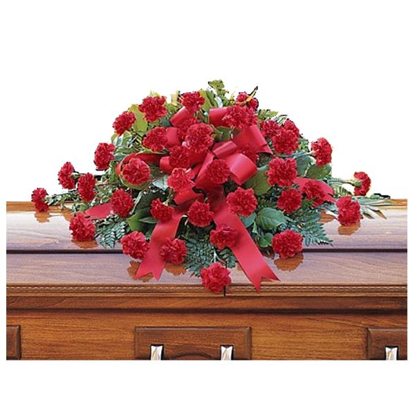 Warm Regards Casket Spray buy at Florist