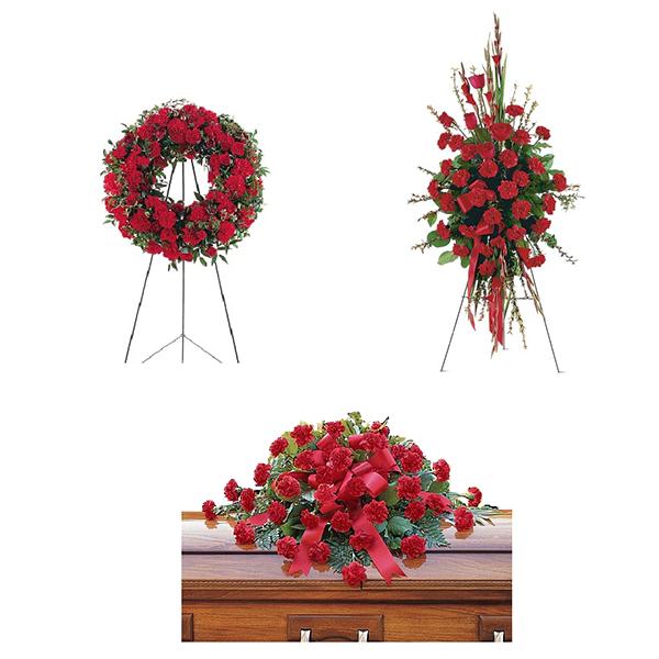 Warm Regards Funeral Flower Package buy at Florist